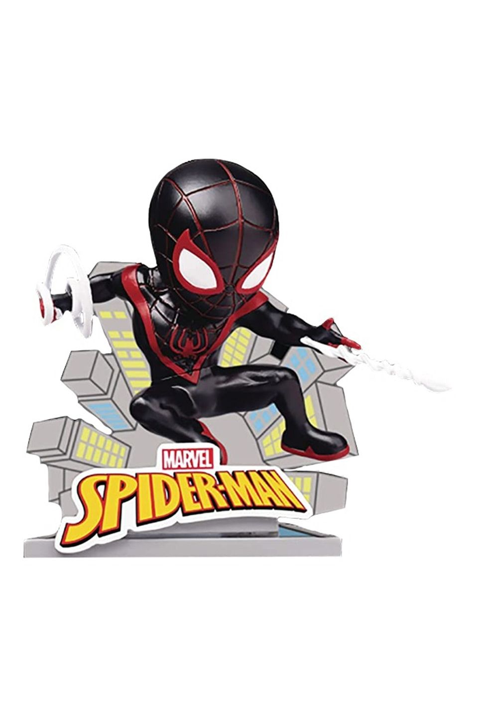 Estátua Spider-Man Miles Morales: Marvel Mini Egg Attack - Beast Kingdom