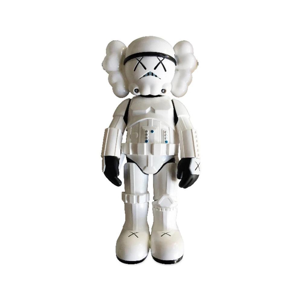 Estátua Stormtrooper: Star Wars Guerra Nas Estrelas X Kaws Louis Vuitton Edition 28 cm Disney - MKP