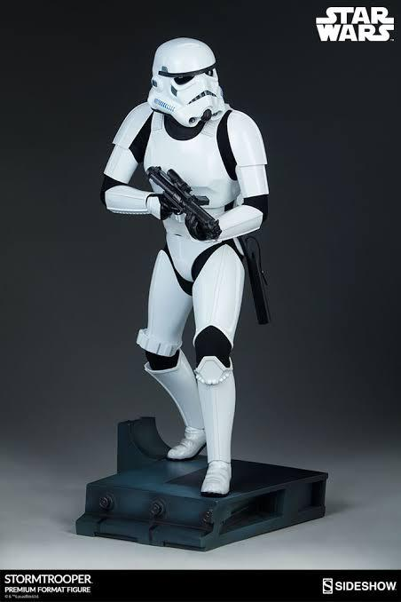 Estátua Stormtrooper Star Wars (Premium Format) Escala 1/4 - Sideshow Collectibles