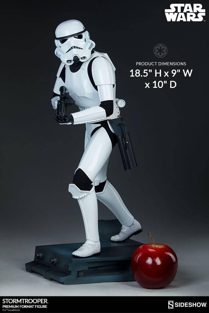 Estátua Stormtrooper: Star Wars (Premium Format) Escala 1/4 - Sideshow