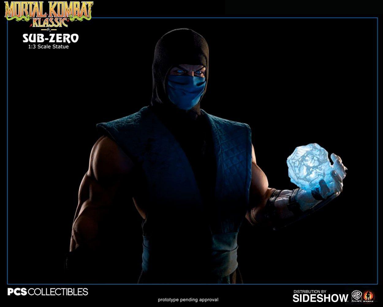 Estátua Sub-Zero: Mortal Kombat Klassic (Escala 1/3) Exclusivo - Pop Culture Shock