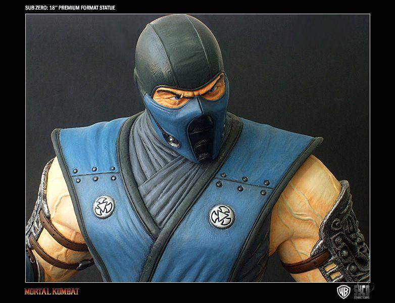 Estátua Sub-Zero: Mortal Kombat - Syco Collectibles