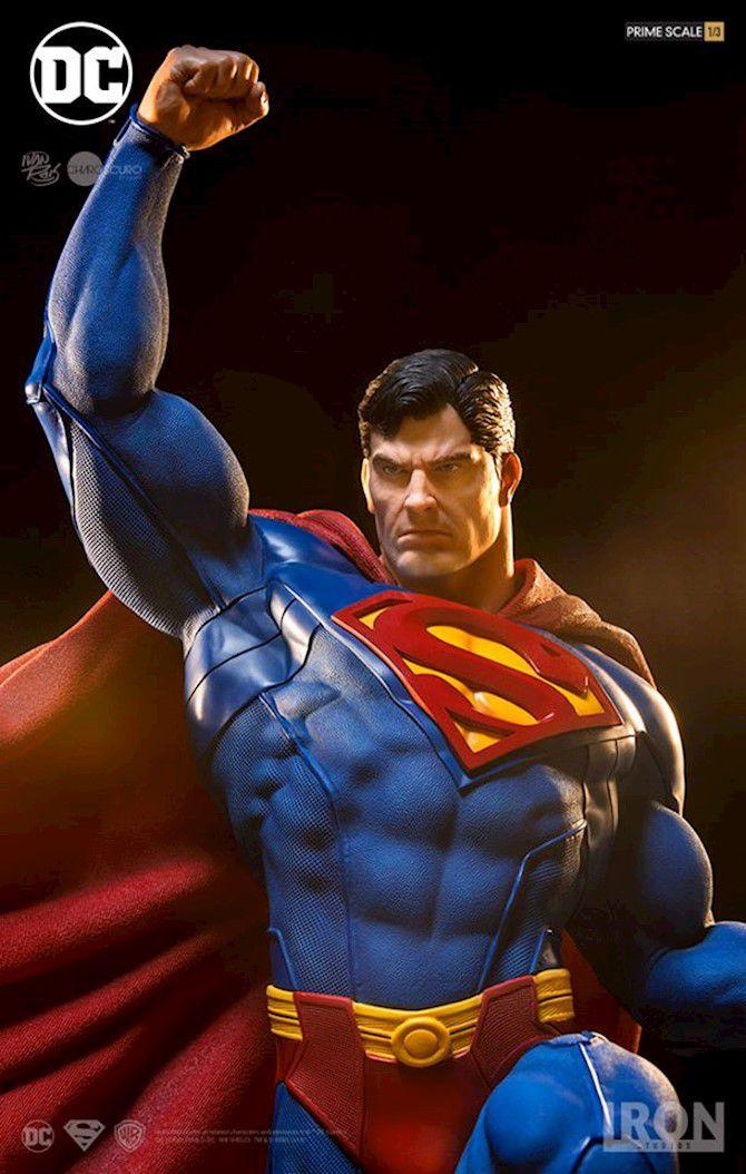 Estátua Super-Homem (Superman): DC Comics Prime Scale (By Ivan Reis) Escala 1/3 - Iron Studios