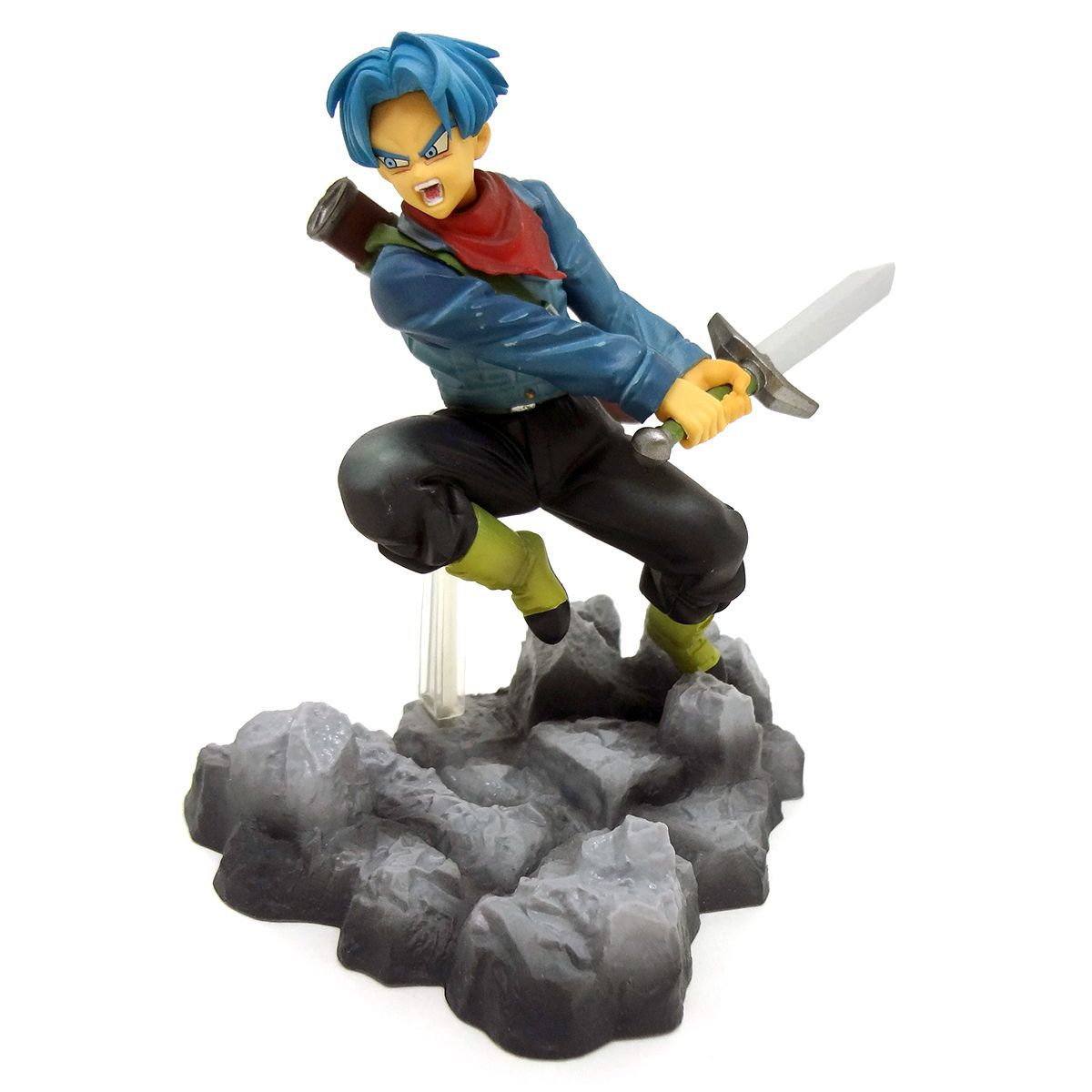 Estátua Super Saiyajin Trunks (Soul x Soul): Dragon Ball Super - Banpresto - CG
