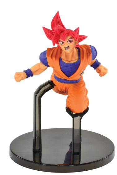 Estátua Super Saiyan God Son Goku Fes: Dragon Ball Super - Banpresto