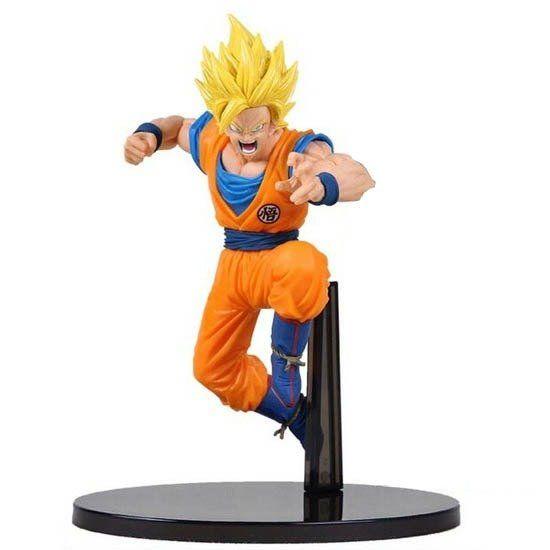 Estátua Super Saiyan Goku: Dragon Ball Z - Banpresto