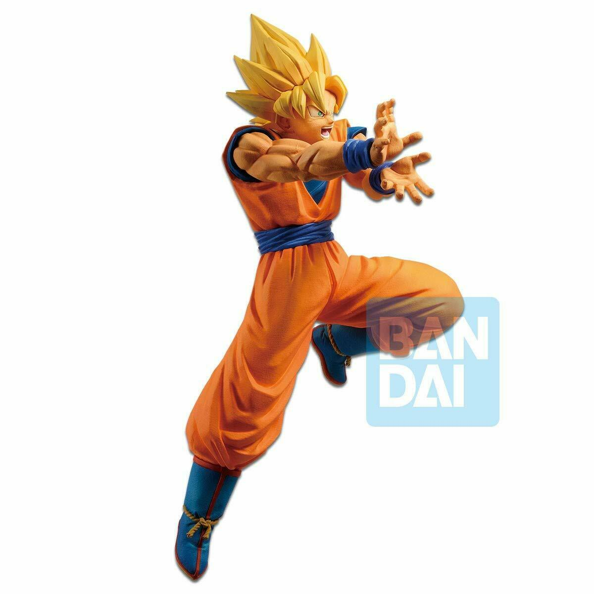 Estátua Super Saiyan Son Goku (The Android Battle): Dragon Ball Z - Bandai