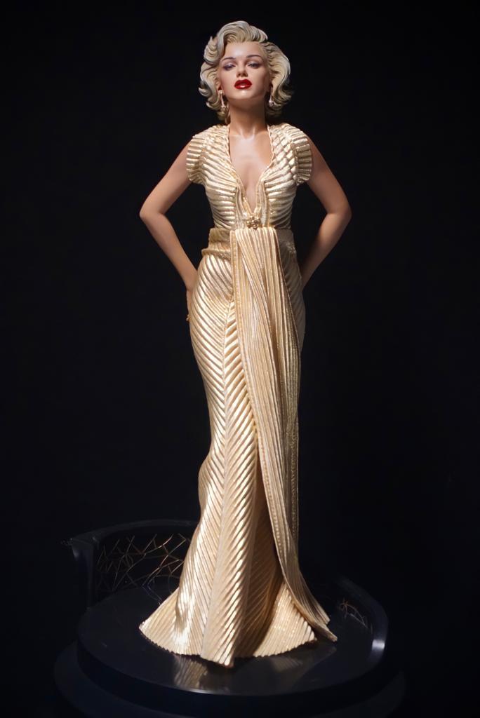 Estátua Super Star Marilyn Monroe 50's Escala 1/4 - Fanatic Studios - EV