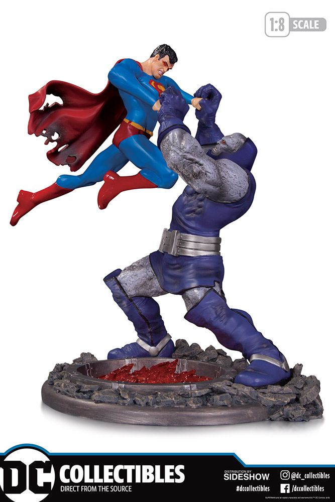 PRÉ VENDA: Estátua Superman vs Darkseid (3rd Edition Battle) - DC Direct