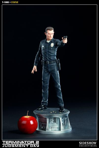 Estátua T-1000 O Exterminador do Futuro 2 Terminator 2 Judgment Day Escala 1/4 - Sideshow Collectibles - CD
