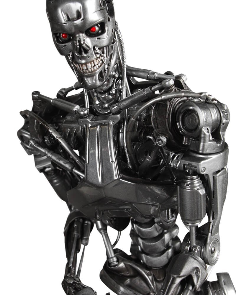 Estátua Terminator Genisys Endoskeleton: O Exterminador do Futuro Gênesis: Chronicle Collectibles: Escala 1/4 - CD
