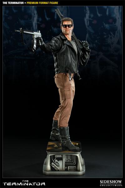 Estátua T-800 O Exterminador do Futuro Terminator Escala 1/3 - Sideshow Collectibles - CD