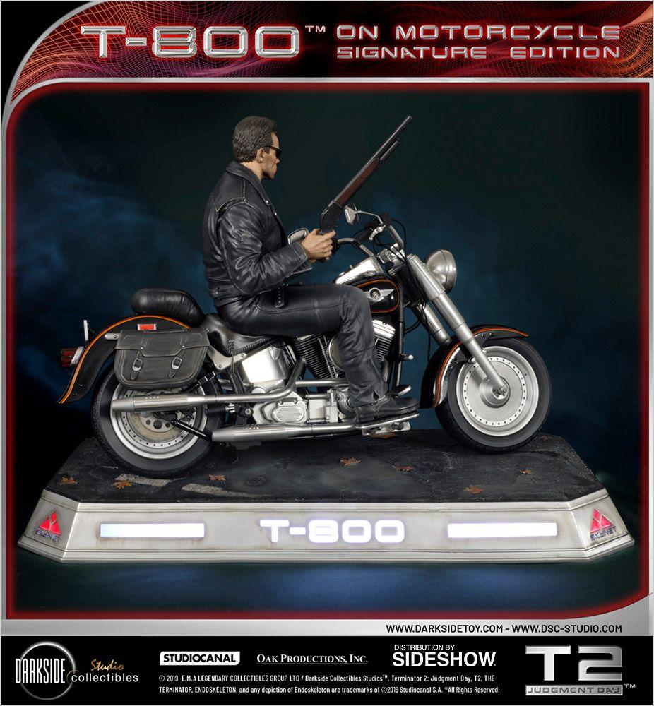 PRÉ VENDA: Estátua T-800 On Motorcycle: O Exterminador do Futuro (The Terminator) Escala 1/4 - DarkSide Collectibles