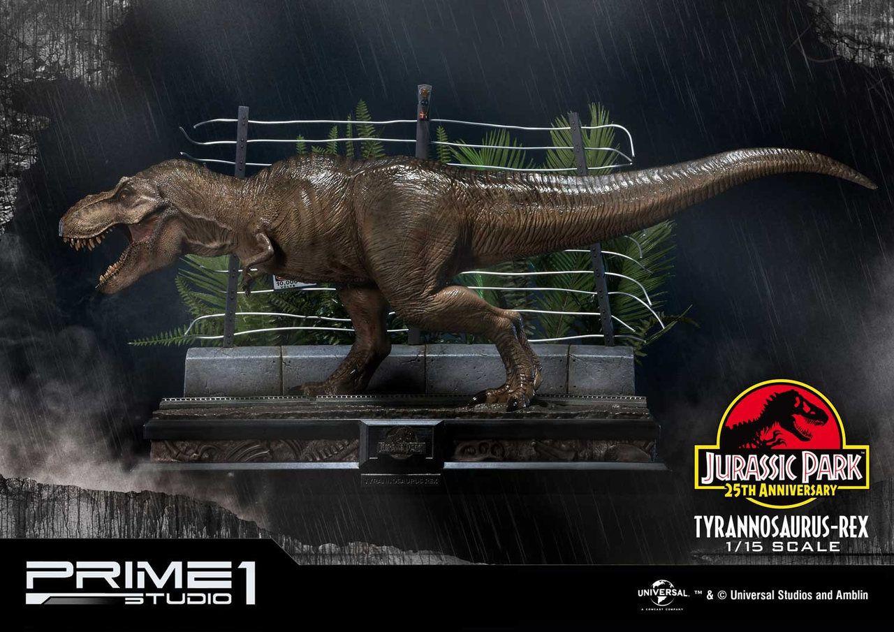 Estátua T-Rex: Jurassic Park O Parque dos Dinossauros (Legacy Museum Collection) Escala 1/15 - Prime 1 Studio