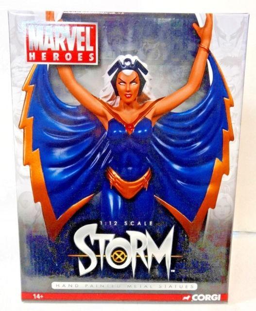 Estátua Tempestade (Storm): Marvel Heroes Escala 1/12 - Corgi