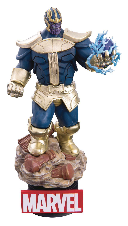Estátua Thanos (D-Stage): Vingadores Guerra Infinita (Infinity War) (DS014) - Beast Kingdom