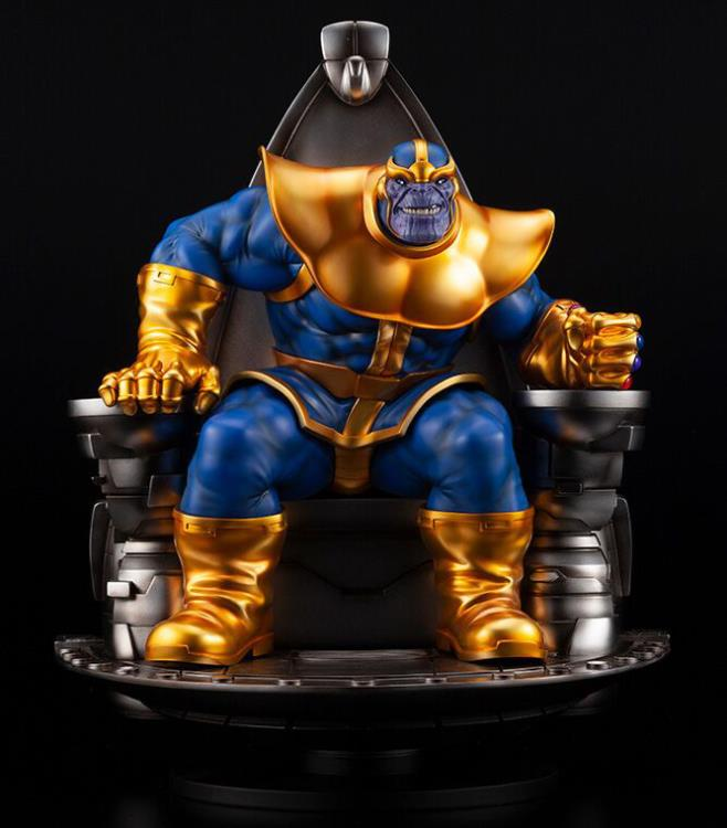 Estátua Thanos (On Space Throne): Marvel (Fine Art) Escala 1/6 - Kotobukiya