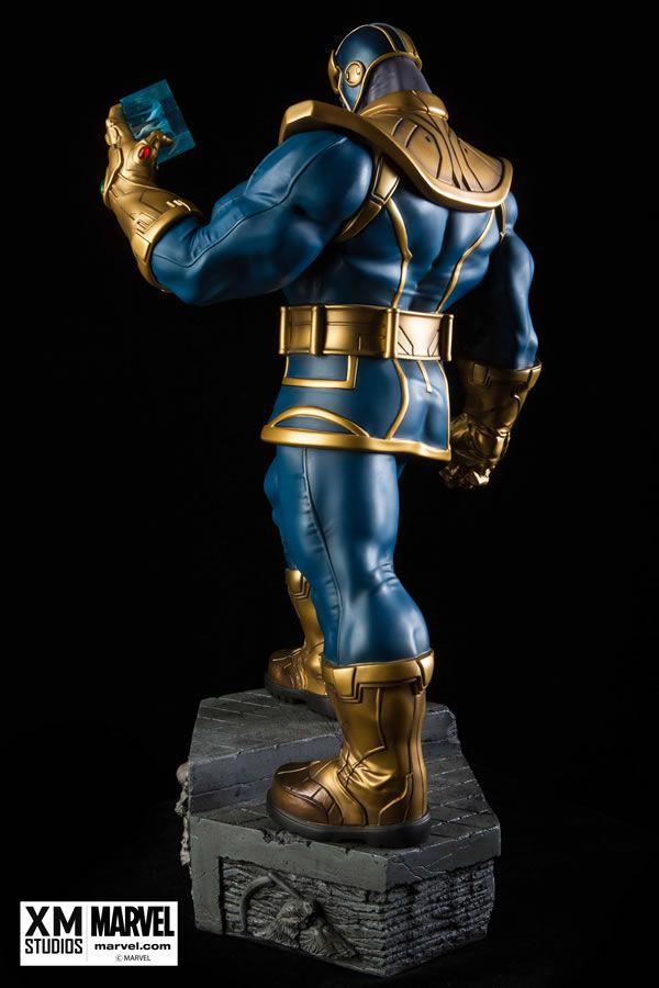 Estátua Thanos: Vingadores Guerra Infinita (Avengers Infinity War) Escala 1/4 - XM Studios