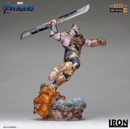 Estátua Thanos: Vingadores Ultimato (Avengers End Game) BDS Art (Escala 1/10) - Iron Studios