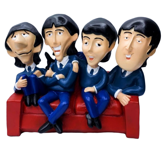 Estátua The Beatles Cartoon (1960s)