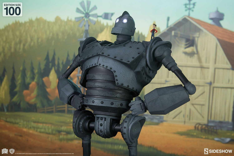 Estátua The Iron Giant (Maquette): O Gigante de Ferro (The Iron Giant) - Sideshow