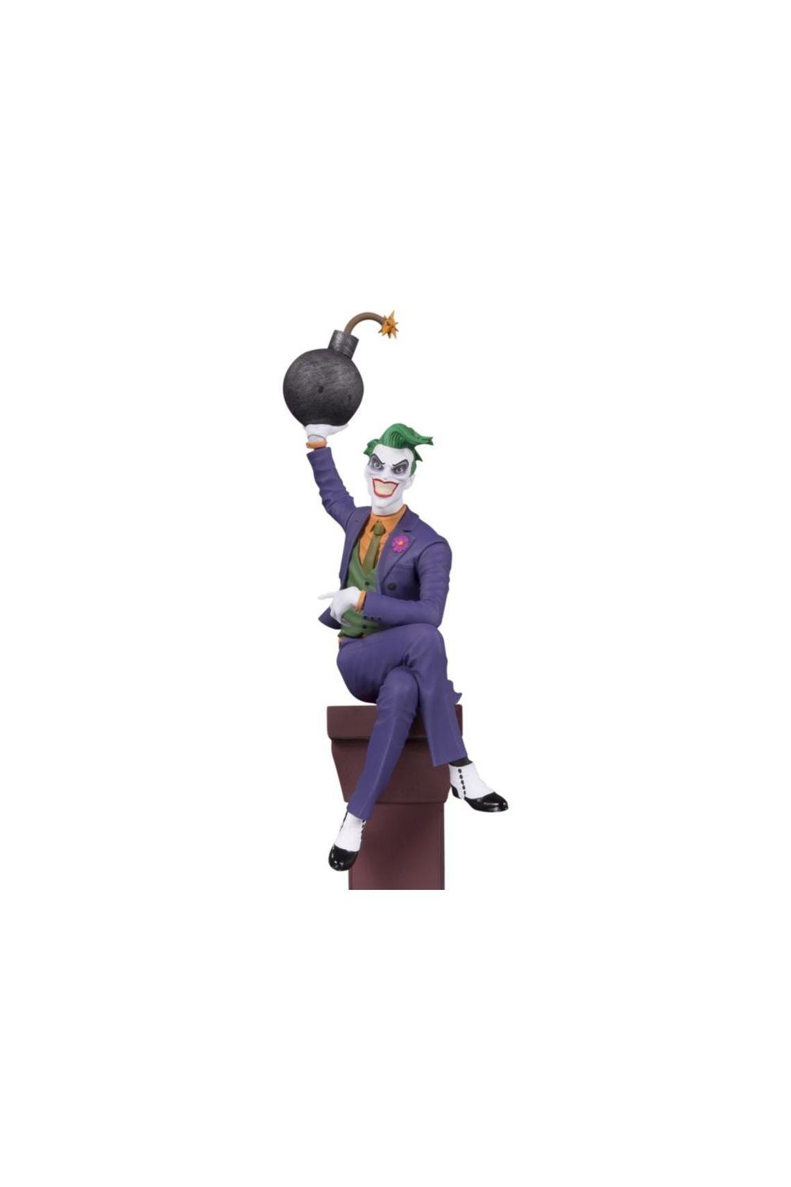 Estátua The Joker Coringa: Multi Part Batman DC Collectibles Escala 1/12 DC Comics