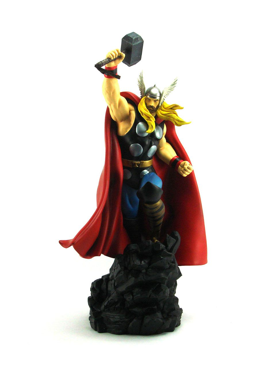Estátua The Mighty Thor (Change-O-Head): Marvel Comics (Deluxe Painted Statue) - Bowen Designs