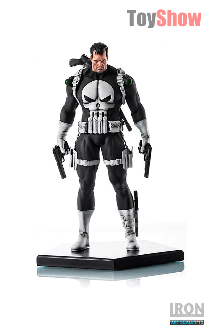 Estátua The Punisher (O Justiceiro) Art Scale Escala 1/10 - Iron Studios