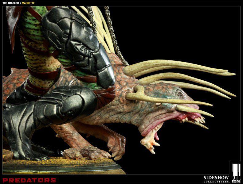 Estátua The Tracker Predator (Predador): Predator (Predador) - Sideshow - CG