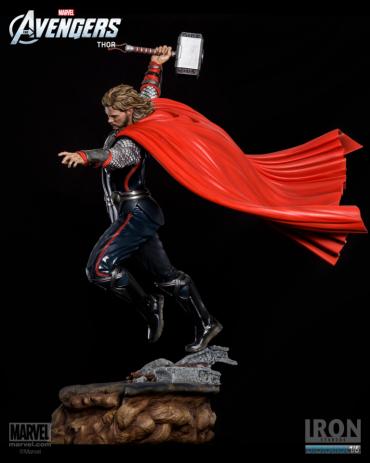Estátua Thor: Os Vingadors (The Avengers) Diorama 1/6 - Iron Studios ( Produto sem Base )