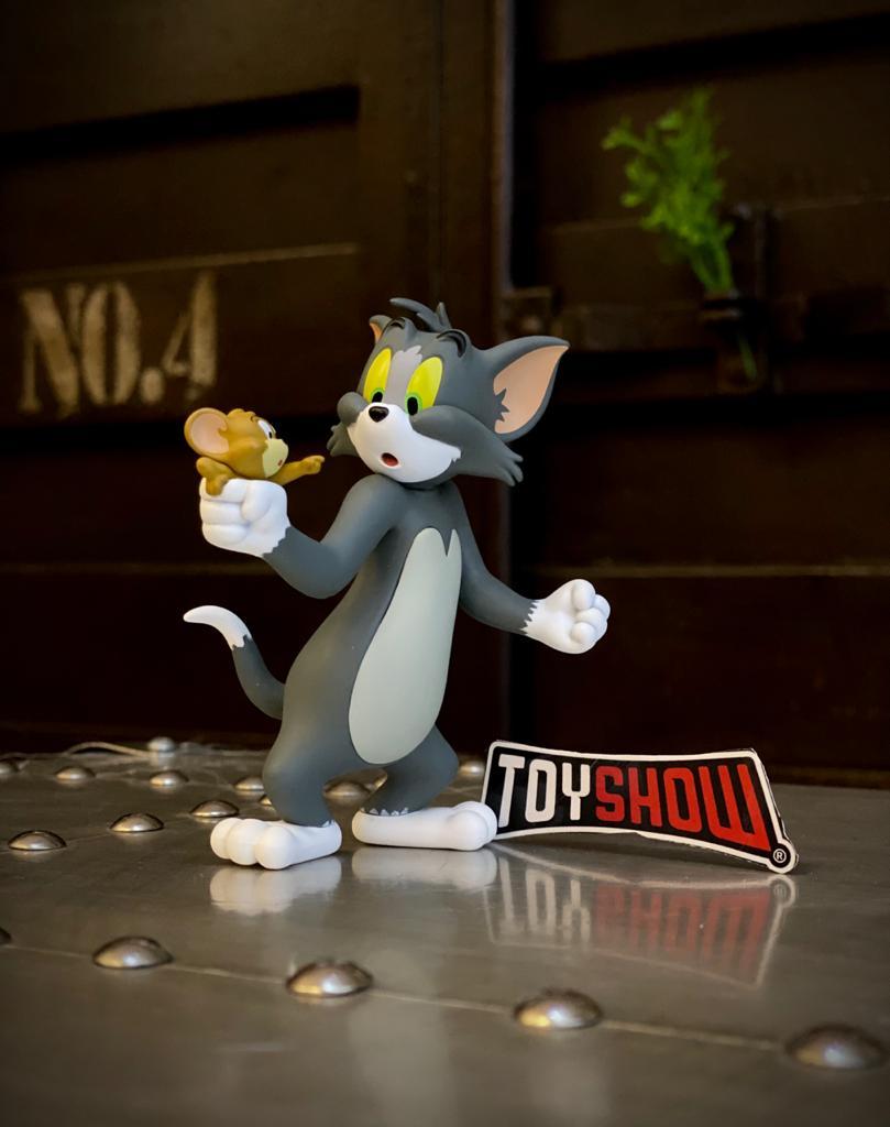 Estátua Tom e Jerry Capturado PVC - 52 Toys