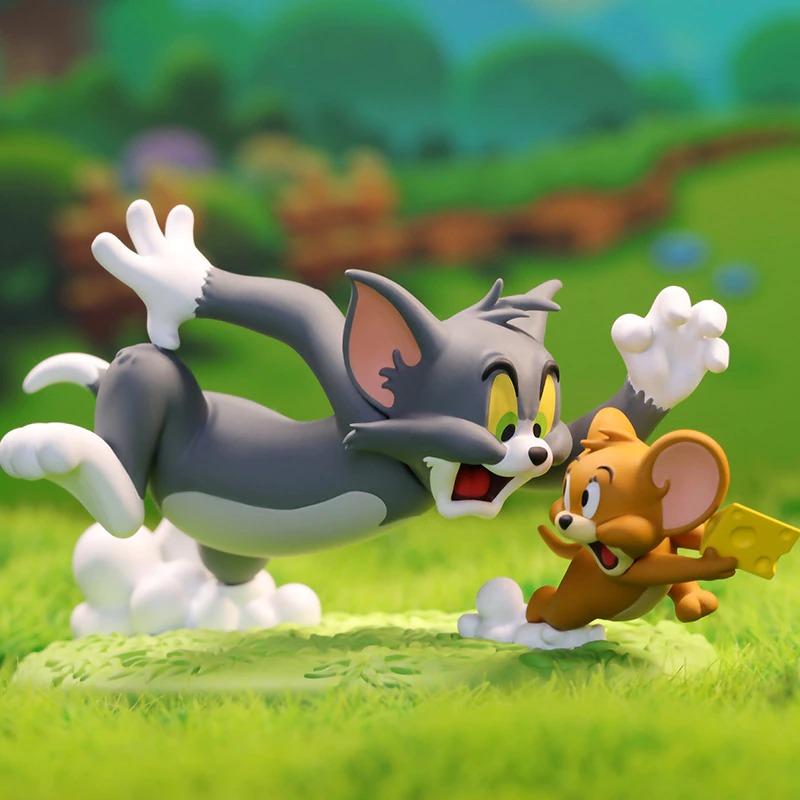 Estátua Tom e Jerry Fuga PVC - 52 Toys - EVALI