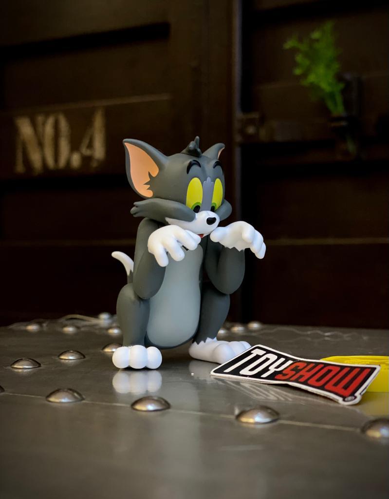 Estátua Tom e Jerry Queijo PVC - 52 Toys - EV