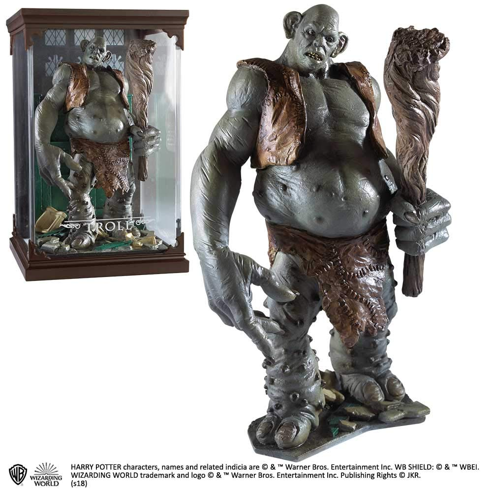 Estátua Troll: Harry Potter Magical Creatures - Noble Collection