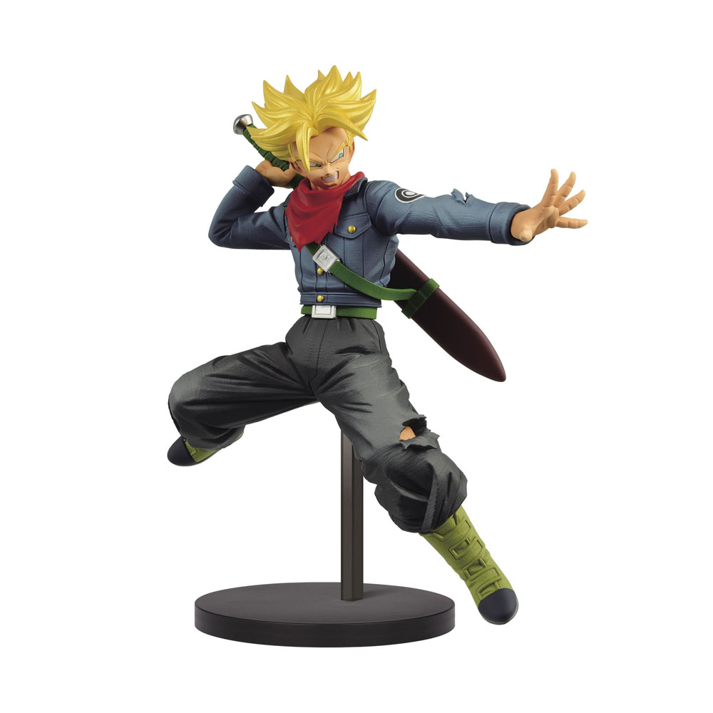 Estátua Trunks Super Sayajin Dragon Ball Super Chosenshiretsuden 2 - Banpresto Bandai