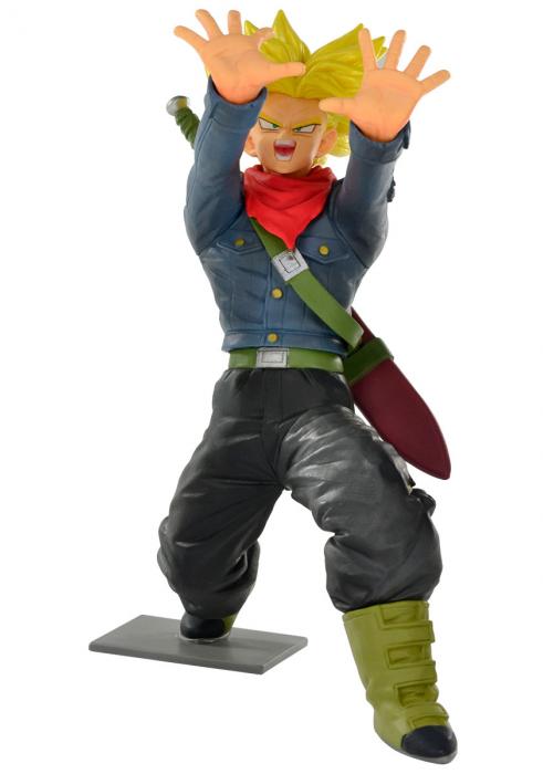 Estátua Trunks Super Sayajin (Galick Gun): Dragon Ball Super - Banpresto