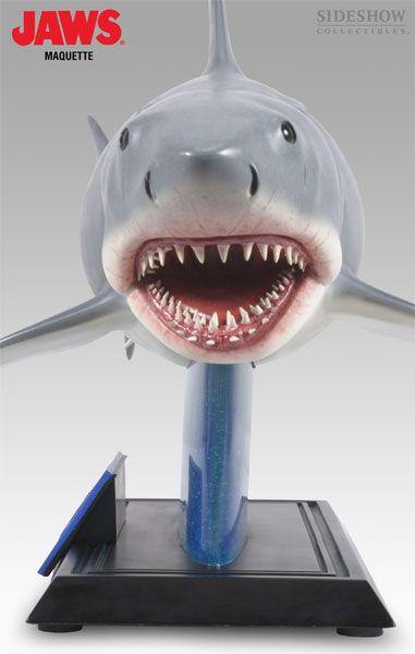Estátua Tubarão (JAWS) Maquette: Tubarão (JAWS) - Sideshow