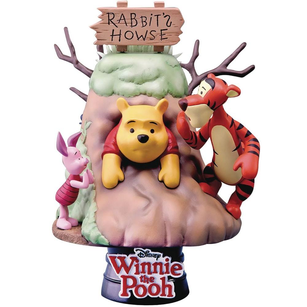 Estátua Ursinho Pooh : Winnie The Pooh - D-Stage Disney - Beast Kingdom