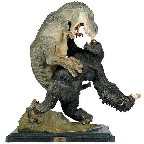 Estátua V-Rex vs. Kong Statue: King Kong - Weta