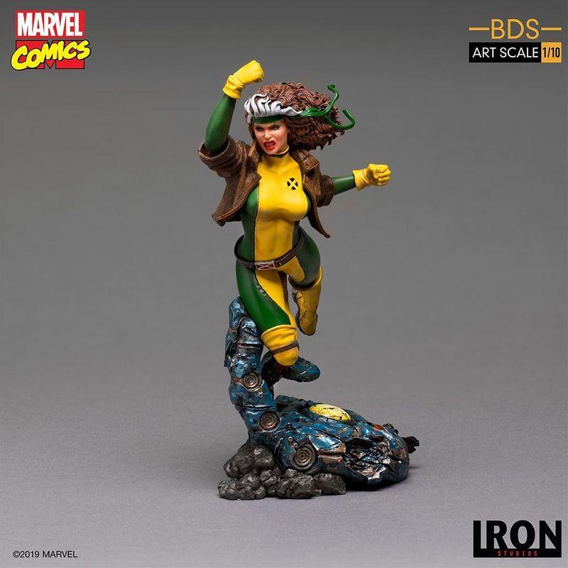Estátua Vampira Rogue X-Men Marvel Comics Escala 1/10 - Irons Studios