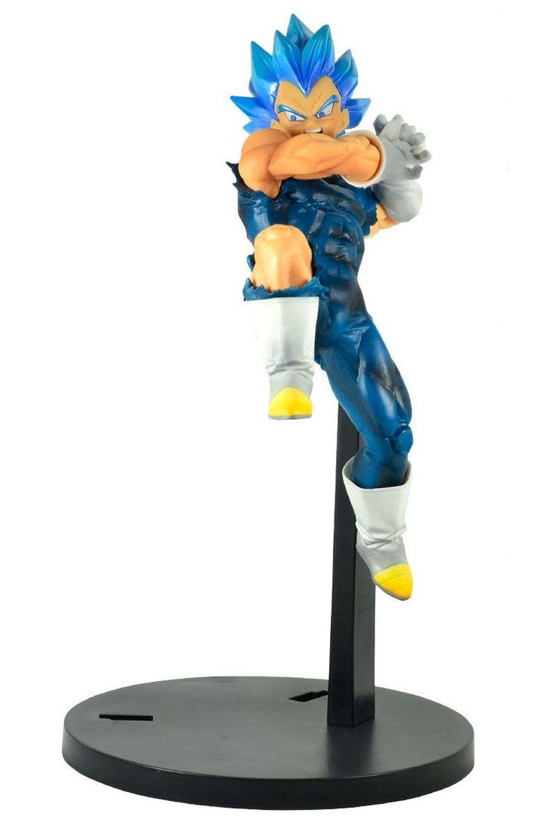 Estátua Vegeta Blue: Dragon Ball Super (Tag Fighters) Anime Mangá - Banpresto Bandai