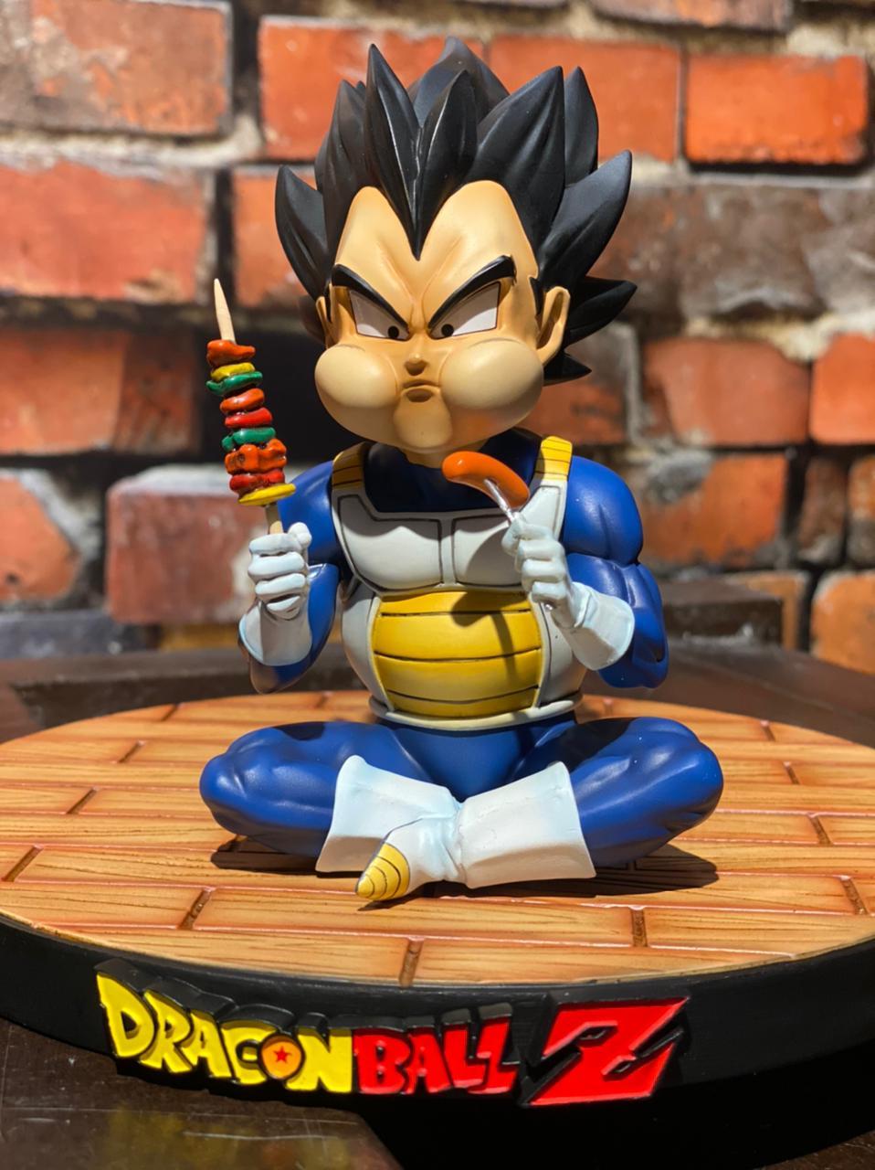 Estátua Vegeta Comendo: Dragon Ball Z - A+ Studio