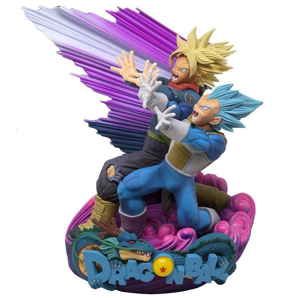 Estátua Vegeta & Trunks (Super Master Stars Diorama): Dragon Ball Super - Banpresto
