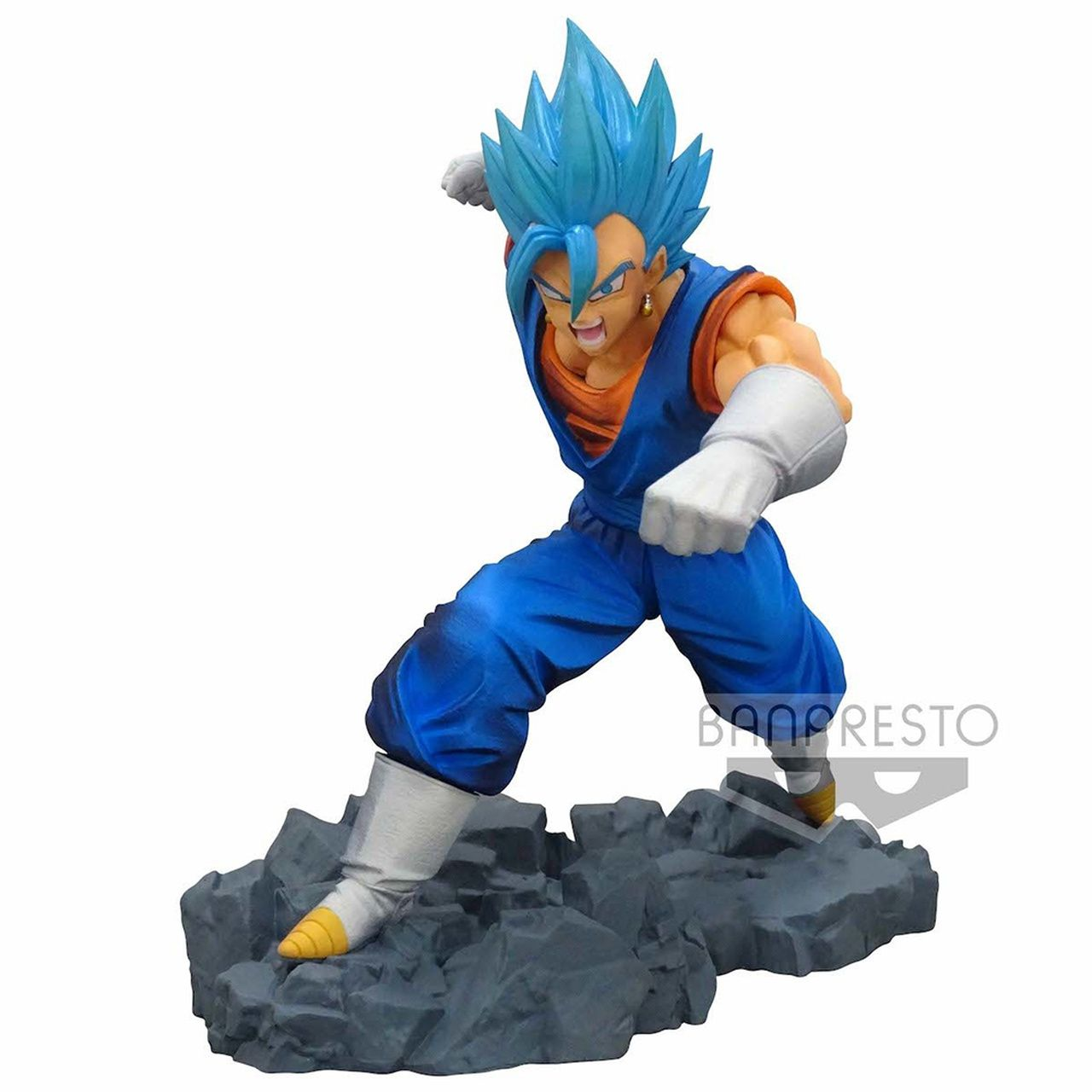 Estátua Vegetto Super Saiyajin God Blue: Dragon Ball Z (Dokkan Battle Collab) - Banpresto