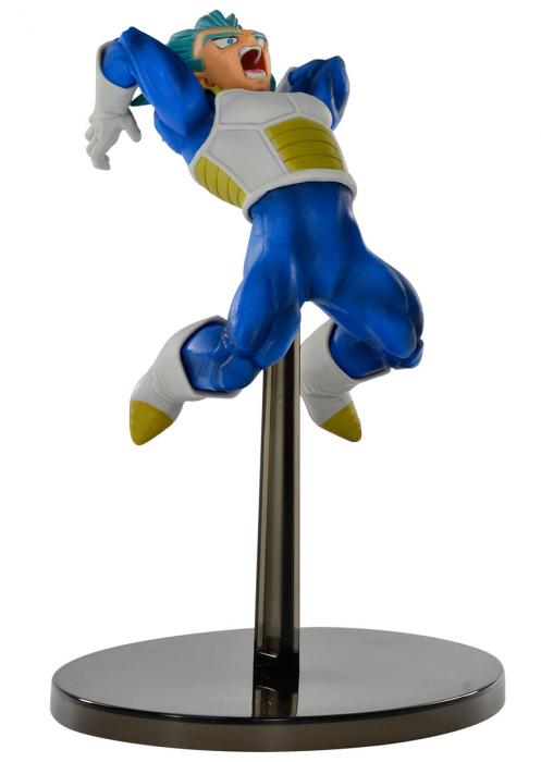 Estátua Vegeta Super Sayajin Blue: Dragon Ball Super (Chosenshiretsuden) - Banpresto