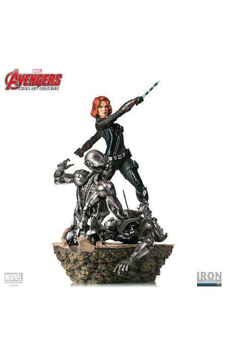Estátua Viúva Negra (Black Widow) Vingadores: Era de Ultron (Diorama) (Escala 1/6) - Iron Studios - CD