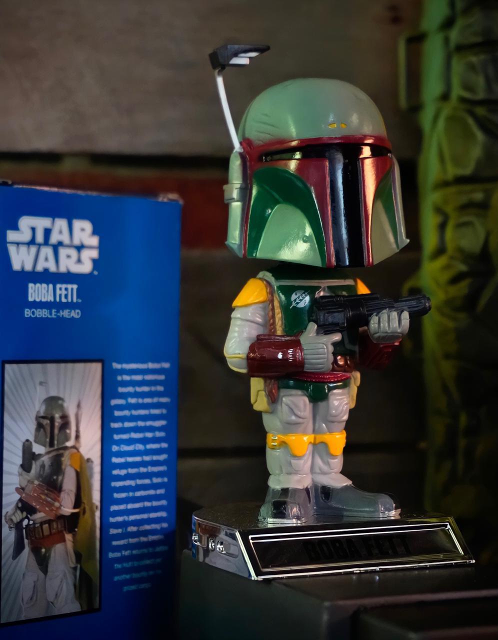 Estátua Wacky Wobbler Boba Fett: Star Wars Bobble-Head - Funko