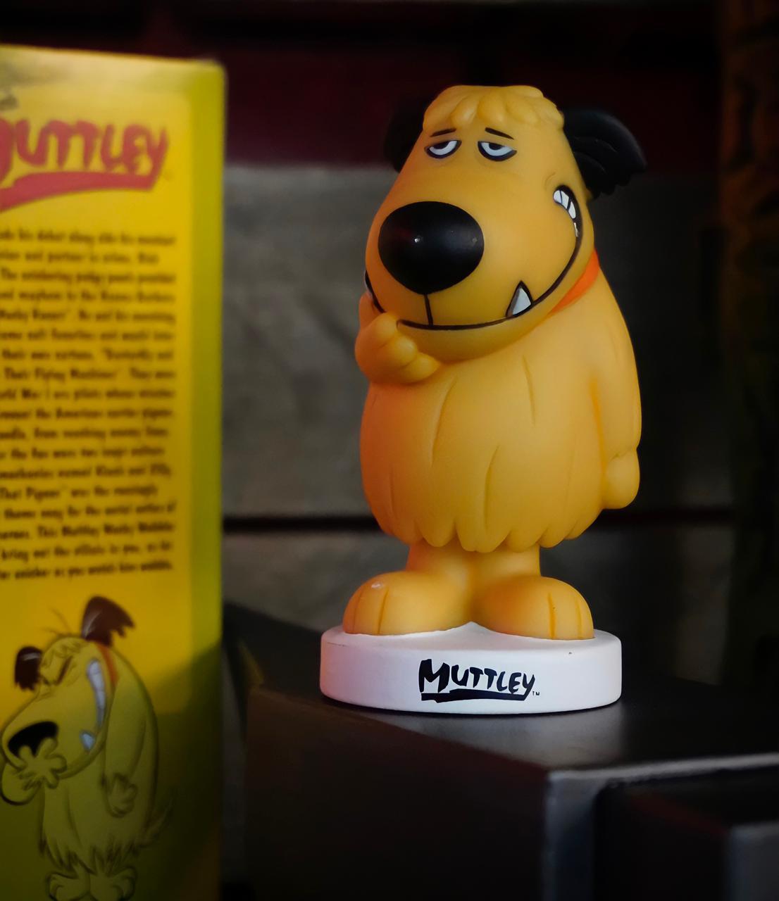 Estátua Wacky Wobbler Muttley: Dick Vigarista & Muttley Hanna Barbera Bubble-Head - Funko