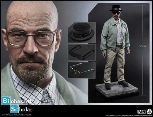 Estátua Walter White Biohazard Scholar: Breaking Bad Escala 1/4 - CGL Toys - ET