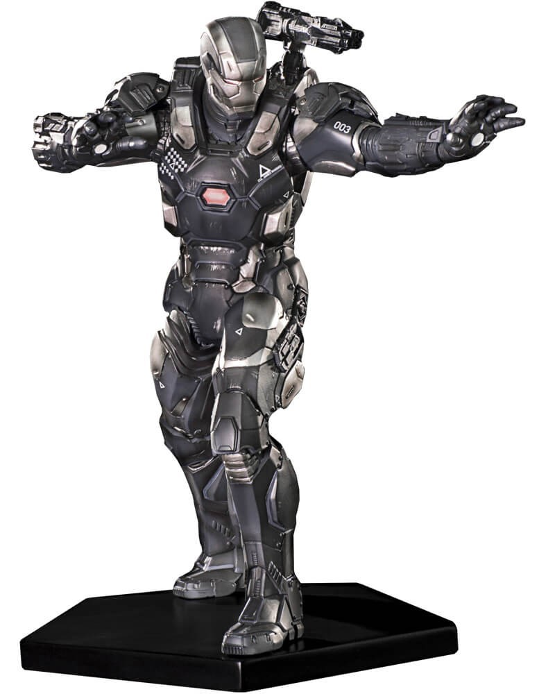 Estátua Máquina de Combate (War Machine): Guerra Civil Art Scale Escala 1/10 - Iron Studios